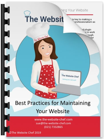 Best practices for maintaining your website