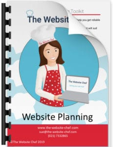 Website planning toolkit