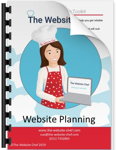 Website planning toolkit